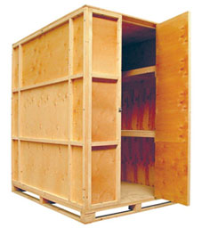 250 cu ft Packing Crate